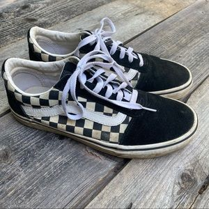 Vans Off The Wall Old School Check Sneakers